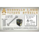 Barbell Titane Stérile 1.6mm