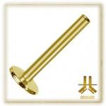 Labret Titane PVD Gold 24k Interne