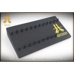 Présentoir Bois Black 21 clips anneaux