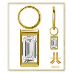 Pendant Charms 1.2mm - PVD Gold n23