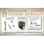 Microbarbell Titane INTERNE Stérile 1.2mm
