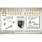 Barbell Titane INTERNE Stérile 1.6mm