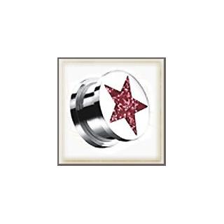 Plug Glitter Star