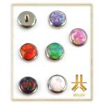 Cabochon Titane Opale 4mm
