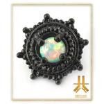 Tête Acier Black Opale Vissage Interne N19