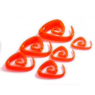 Spirale Triangle Orange
