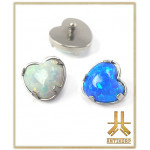 Tête F136 Griffée Opale Coeur interne