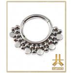 Anneau Clicker Titane Cerclage Multi Beads