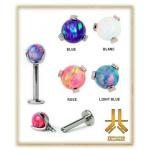 Labret Interne Opale