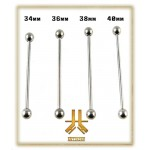 Barbell Titane Indus