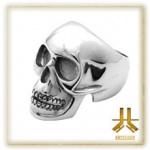 Bague Skull 1 Acier 316L