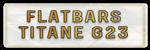 FLATBARS TITANE